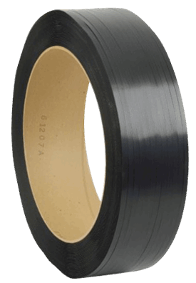 7,200 Length PAC Strapping 48H.60.0172 Polypropylene Heavy Duty Hand Grade Strapping Black 1//2 Width